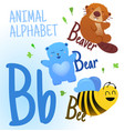animal alphabet in p letter very cute