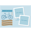 baboy arrival card vector image vector image