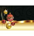 Decorative Christmas Ornaments3 vector image
