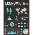 Economic infographic vector | Price: 3 Credits (USD $3)