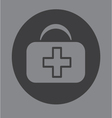 First aid bag icon symbol vector image vector image