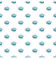 graduation hat pattern seamless vector image vector image