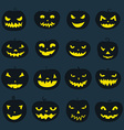 Pumpkin Icons vector image vector image