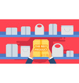 Shop Concept Banner vector image