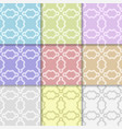 abstract decorative seamless pattern vector image vector image