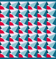 colored polygons in a retro style seamless vector image vector image