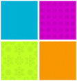 Colorful ornamental patterns vector image