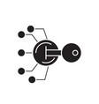 lock scheme black concept icon lock scheme vector image vector image