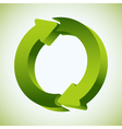 Refresh Recycle Icon vector image vector image