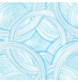 Hand drawn seamless pattern with abstract circles vector image