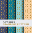 art deco seamless pattern 35 vector image vector image
