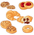 baking on white background vector image vector image