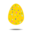 Easter Egg Icon vector image vector image