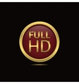 Full HD vector image vector image