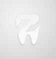 Icon protected around the tooth vector image vector image