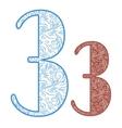 ornament symbols vector image