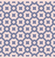 pink and blue seamless abstract pattern vector image vector image