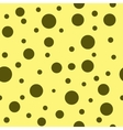 Polka dot brown seamless pattern vector image vector image