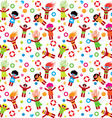 summer pattern beach vector image vector image