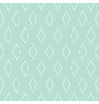 Tile pattern or mint green and white wallpaper vector image vector image