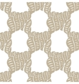 sea ocean pattern watercolor shells background vector image
