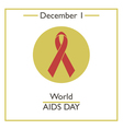AIDS Day vector image