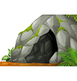 Cave vector image vector image