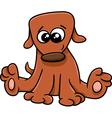 dog or puppy cartoon vector image vector image