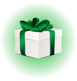 gift box concept with colorful vector image vector image