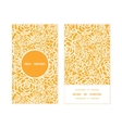 golden lace roses vertical round frame pattern vector image vector image