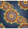 Seamless mandala pattern Vintage decorative vector image vector image