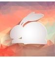 Happy Easter Rabbit Bunny vector image