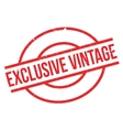 Exclusive Vintage rubber stamp vector image vector image