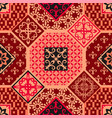 fashionable pattern in the arab style seamless vector image