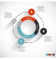 Infographic Templates for Business vector image vector image