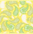 limoncello paisleys seamless pattern with lemon vector image vector image