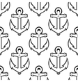 Marine or nautical seamless background pattern vector image