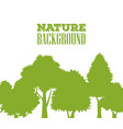 nature background design vector image