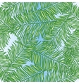 Palm leaves abstract seamless pattern vector image vector image