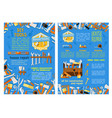 work tool for home repair construction poster set vector image vector image