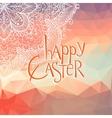 Happy Ester lettering vector image vector image