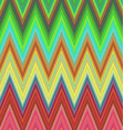 Multicolored zig zag stripe pattern background vector image vector image