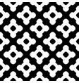 seamless pattern black white tiles vector image vector image