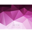 Abstract colorful geometric background Template vector image vector image