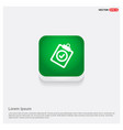 add plus icon green web button vector image