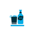 beverage icon colored symbol premium quality vector image