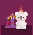 circus animals design vector image