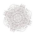 City Mandala vector image