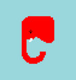 red elephant icon republican party sign usa vector image vector image