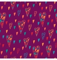 Seamless heart pattern for Valentines day vector image